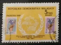 MADAGASCAR 1981. USADO - USED. - Madagascar (1960-...)