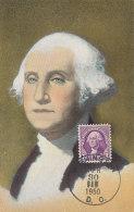 D24663 CARTE MAXIMUM CARD 1950 USA - GEORGE WASHINGTON CP ORIGINAL - George Washington