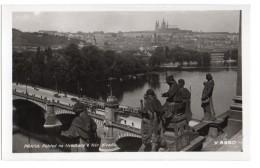 Praha - Pohled Na Hradcany S Nar Divadla - República Checa