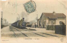45 - DORDIVES - Gare - Chemin De Fer - Train - Défaut - Dordives