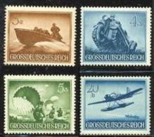 1944 DEUTSCHES REICH HEROES MEMORIAL DAY SHORT SET MNH ** - Deutschland