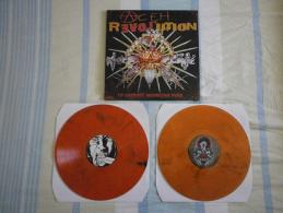 ACEH REVOLUTION - To Support Indonesian Punk - 2LP - Vinyl ORANGE - INNER TERRESTRIALS - TAGADA JONES - BANANE METALIK - Punk