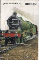 Fantaisie A Système - Train - Just Arrived At HEXHAM - - Une Vue Derrière Pochette       (89245) - A Systèmes