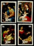 Niue 1984 - Scott 457/60 (MNH) - Christmas - Niue