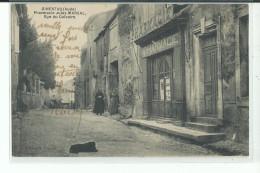 11 GINESTAS Pharmacie Jules Marsal , Rue Du Calvaire ,carte Ecrite Par Le Pharmacien - Autres Communes