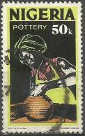 Nigeria  - 1973 Pottery 50K Used Sc 305 - Nigeria (1961-...)