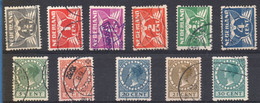 Netherlands 1930 Wilhemina With Watermark MH 2-sided Rollenzähnung, Roltanding 11 Values - Period 1891-1948 (Wilhelmina)