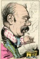 N°54 Trombinoscope Touchatout Moloch Caricature Satire 1882 Célibataire Tabac - 1850 - 1899