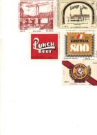 Etiquettes (label) De Biere   ( Beer, Cerveza, Birra, Bier) De Brasseries Belges - Birra