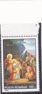 #148     CHRISTMAS, JESUS CHRIST,   1X STAMP,  ,MNH**, 1995 ,  Mi.5154,   ROMANIA. - Unused Stamps