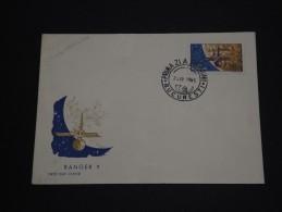 ROUMANIE - Enveloppe 1 Er Jour Thème Cosmos En 1965 - A Voir - L 1413 - FDC