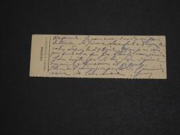VIEUX PAPIER - Coupon Réservé à La Correspondance - A Voir - L 1415 - Vieux Papiers