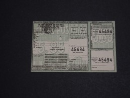 FRANCE - Colis Postal - A Voir - L 1423