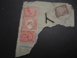 FRANCE - Taxe Sur  Fragment En Provenance De L ' Australie , état Divers - A Voir - L 1433 - Marcophilie (Timbres Détachés)