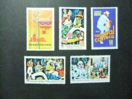 BRESIL BRASIL 1969 CARNAVAL De RIO De JANEIRO Yvert Nº 918 / 922 ** MNH - Brazil