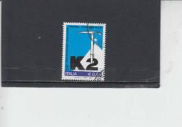 ITALIA  2004 - Sassone  2772° -  Montagna - K2 - 6. 1946-.. Republic