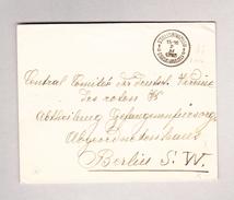 Belgien  St Gilles (Bruxelles) 7.11.1916 Brief Nach Berlin Rotes Kreuz - Poststempel
