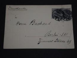 ALLEMAGNE - Oblitération De Cassel Sur Carte Postale Double En 1906 - A Voir - L 1447