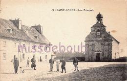 39 -Salins Les Bains - Fort Saint André - Cour Principale - Soldats - 2 Scans - Francia