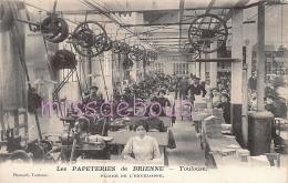 31 - TOULOUSE - Les Papeteries De Brienne - Ouvrières - Dos Vierge  Imprimé - 2 Scans - Toulouse