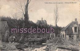 28 - VALLEE D'AVRE - Château De Montuel - 2 Scans - France