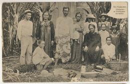 Iles Tuamotou Pecheurs Et Pecheuses De Nacre Perle Cliché Thuret - Polynésie Française