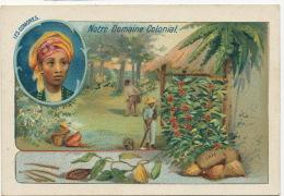 Iles Comores Chromo Pub Ouataplasme Dr Langlebert 10 Rue Pierre Ducreux Mayotte Nossi Bé Ste Marie Café Vanille Cacao - Mayotte