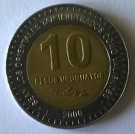 URUGUAY - 10 Pesos 2000 - ARTIGAS - - Uruguay