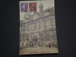 FRANCE - Carte Postale Photo De Troyes Pour Le Gabon En 1926 ( Destination Peu Courante) - A Voir - L 1470 - Postmark Collection (Covers)