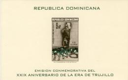 1959 - 29° Aniversario De La Era De Trujillo - Sheet Imperforate MNH** - Repubblica Domenicana