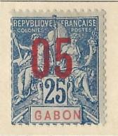 Gabon - 1912 - Nuovo/new MH - Allegorie - Mi N. 76 - Ongebruikt