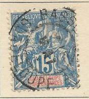Guadalupe - 1892 - Usato/used - Allegorie - Mi N. 32 - Usados