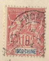 Indocina - 1901 - Usato/used - Allegorie - Mi N. 18 - Indocina (1889-1945)