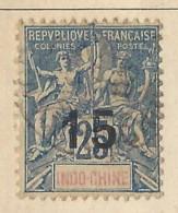 Indocina - 1903 - Usato/used - Allegorie - Mi N. 23 - Used Stamps
