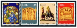 Irlanda - 1994 - Nuovo/new MNH - Natale - Mi N. 878/81 - 1949-... Repubblica D'Irlanda