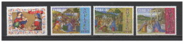 Irlanda - 1995 - Nuovo/new MNH - Natale - Mi N. 922/25 - 1949-... Repubblica D'Irlanda