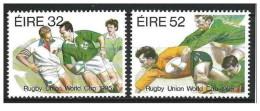 Irlanda - 1995 - Nuovo/new MNH - Rugby - Mi N. 894/95 - 1949-... Repubblica D'Irlanda