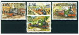 Irlanda - 1995 - Nuovo/new MNH - Treni - Mi N. 886/89 - 1949-... Repubblica D'Irlanda