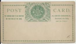 AUSTRALIA - 1888 - CARTE ENTIER POSTAL Du JUBILEE Du TIMBRE - SYDNEY - Cartas