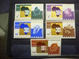 REP.DEM.DU CONGO 684/88 Xx ( COB ) COTE : 6 EURO ( F ) - Neufs