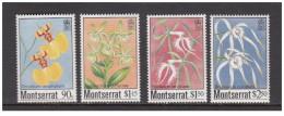 Montserrat - 1985 - Nuovo/new MNH - Fiori - Mi N. 568/71 - Montserrat