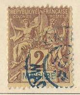 Nossi-Bé - 1894 - Usato/used - Allegorie - Mi N. 27 - Nossi-Be (1889-1901)