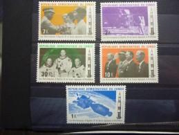 REP.DEM.DU CONGO 748/752 Xx ( COB ) COTE : 12 EURO ( F ) - République Démocratique Du Congo (1964-71)