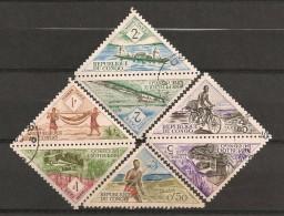 Timbres - Afrique - République Du Congo - 1961 - Lot De Timbres Taxe - - Congo - Brazzaville
