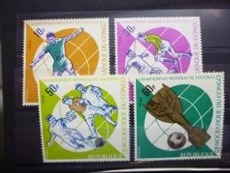 REP.DEM.DU CONGO 629/632 Xx ( COB ) COTE : 5 EURO ( F ) - Nuovi