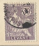 Territori Francesi - Levante - 1903 - Usato/used - Allegorie - Mi N. 17 - Used Stamps