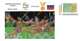 Spain 2016 - Olympic Games Rio 2016 - Gold Medal - Rhythmic Gymnastics Female Russia Cover - Otros