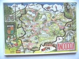 Andorra Country Map - Andorra