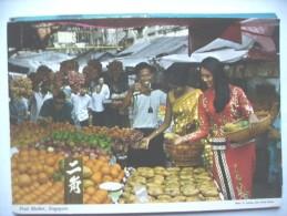Singapore  With A Fruit Market - Singapore