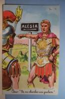 ALESIA  - ORDNER . P  -- TABAC - César : Va Me Chercher  Une  Gauloise  - HUMOUR - ( Pas De Reflet Sur L'original ) - Ordner, P.